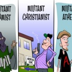 The myth of militant atheism