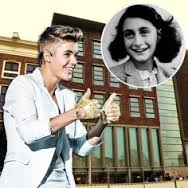 Bieber, Beliebers and Anne Frank