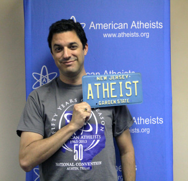 Atheist Allowed To Show His Godlessness On License Plate After New Jersey DMV Reverses