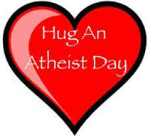 Religion, Lately: Hug an Atheist trailer, evangelical sea-change in the making, and a spell for keeping Syria safe from American bombs