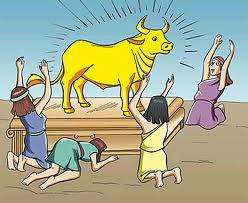 Idol worship cow