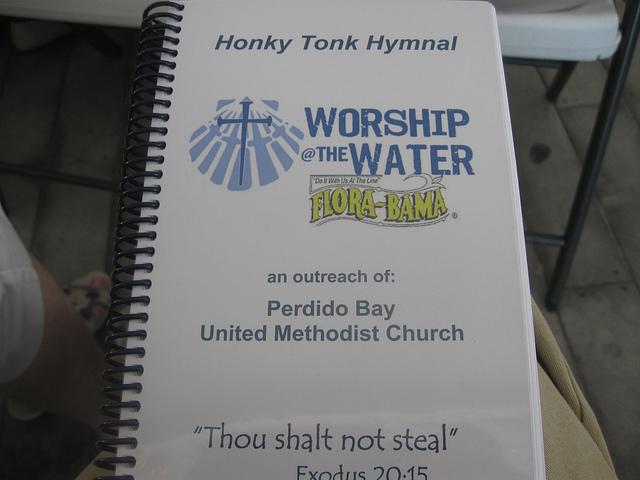 worship at the beach hymnal