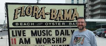 worship flora bama sign