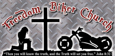 Freedom BIker Church Sign
